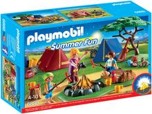Playmobil Pole namiotowe z ogniskiem led 6888