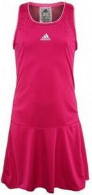 adidas nka dziewczęca Sukienka Dziewczęca Adidas Adizero - pink buzz/neon pink