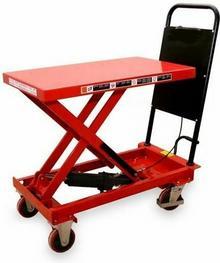 030 0301620 Wózek platformowy nożycowy (udźwig: 150 kg)