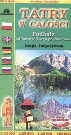 Tatry w całości mapa 1:50 00 Sygnatura
