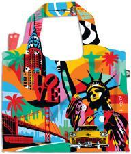 BG Berlin Torba na zakupy dzienna i na zakupy 3w1 LOBO Eco Bags - American Way BG001/01/13