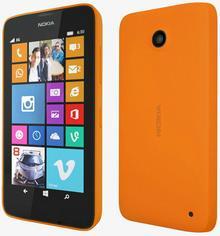 Nokia Lumia 630 Dual Sim Pomarańczowy