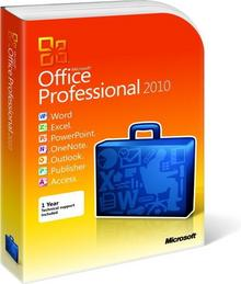 Microsoft Office 2010 Professional PL PKC
