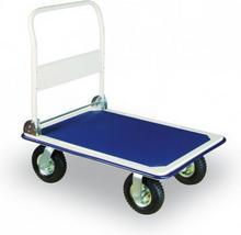 B2B Partner Składany Wózek platformowy z kołami dętkowymi 186281