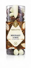 Migdały w czekoladzie 3 mix 280g Tercetto