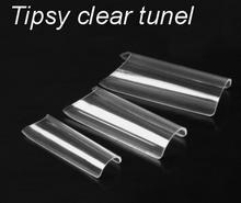 I-nails special Uzupełnienie tipsy clear EXTRA TUNEL WR 30szt. #9