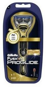 Gillette Fusion Proglide Power Gold maszynka do golenia z jednym wkładem + bateria