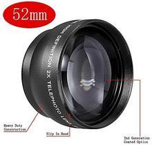 Neewer 52MM Tele-torba na obiektyw z elektryczną regulacją obiektyw do aparatów i kamer z obiektywem 52MM rozmiar gwintu filtra 10000084
