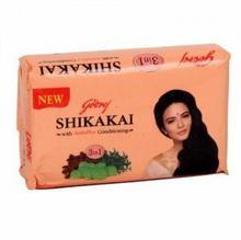 Mydło w kostce do Włosów z Shikakai 75g Godrej