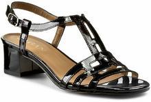 Sagan sandały - 2535 czarny Lakier