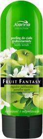 Joanna Fruit Fantasy peeling do ciała gruboziarnisty rajskie jabłuszko 200ml