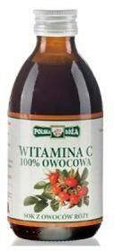 Polska Róża Witamina C 100% owocowa 250 ml 005003