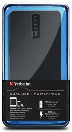 Verbatim Powerbank 1xUSB / 8400 mAh (97935) Czarny