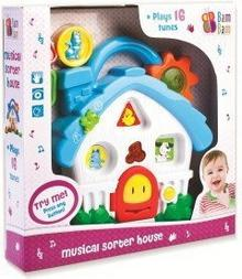 Bam Bam Muzyczny domek, sorter 321037