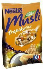 Nestle Musli tropikalne 350g