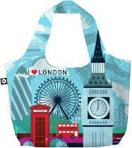 BG Berlin Eco torba na zakupy 3w1 BG Eco Bags - London BG001/01/133
