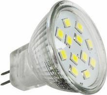 Superled Żarówka LED MR11 12 SMD 2835 2,4W (24W) 200lm 230V barwa zimna