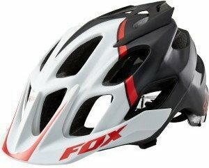 Fox Kask rowerowy Flux czarno-czerwony r.S/M -KAS14