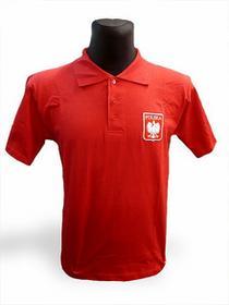 T-Shirt Polo Polska czerwony 04