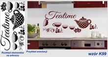 Naklejka do kuchni - Teatime - K99
