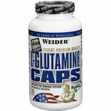 Weider L-Glutamine caps - 160 kaps