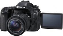 Canon EOS 80D + EF-S 18-55mm czarny