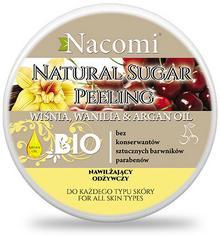 Nacomi Peeling Cukrowy Wiśnia z Wanilią 200ml