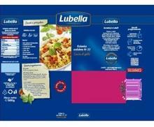 Lubella KOLANKA OZDOBNE CRESTE DI GALLO MAKARON 500 G 34556555