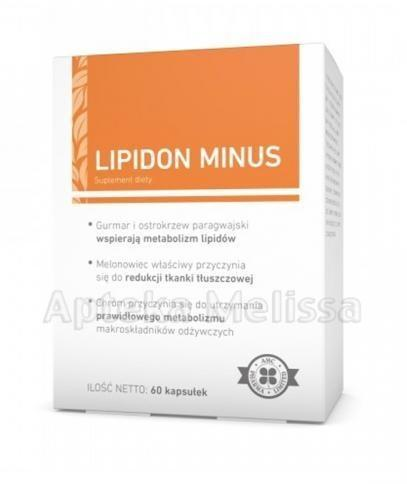 A-Z Medica LIPIDON MINUS 60 kaps 3086641