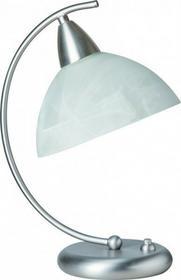 Steinhauer Steinhauer BURGUNDY lampa stołowa Stal nierdzewna, 1-punktowy 5423ST