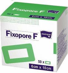 Opatrunek foliowy Fixopore F jałowy 8x15cm 50szt.