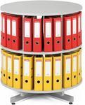 Opinie o B2B Partner Regał obrotowy na segregatory, 2 półki 101557
