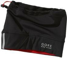 Gore Bike Wear WS Beany HWPOWE czapka rowerowa, uniwersalna, z membraną Windstopper, jeden rozmiar, czarna/czerwona HWPOWE990001_9900_One size
