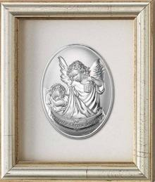 Valenti & Co Obrazek Anioł Stróż z latarenką w ramce za szkłem - (v#797)
