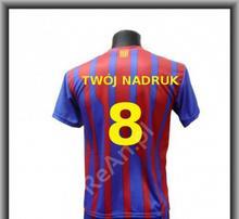 T-Shirt Barcelona Własny Nadruk