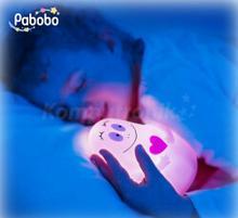 Pabobo lampka przytulanka Barbapapa różowa