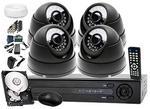 Zestaw do monitoringu: Rejestrator LV-AHD442H. 4 x Kamera LV-AL25HD+ dysk 1TB +