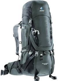 Deuter Plecak trekkingowy Aircontact 45 l + 10 - Granite/Black