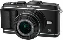 Olympus Pen E-P3 + 14-42 kit czarny