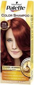 Schwarzkopf Palette Color Shampoo 318 Rubinowa Czerwień
