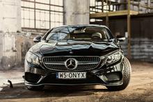 Jazda  Mercedes S500 Coupe - Poznań - Tor Główny