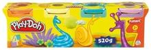 Hasbro Play-Doh 4 Tuby różne kolory