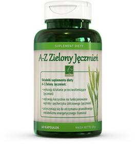 A-Z Medica A-Z Zielony Jęczmień 60 kapsułek 3033761