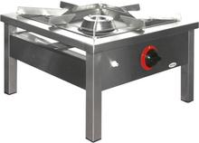 Egaz Taboret gazowy 1-palnikowy, 600x600x350 mm, 9 kW TG-110.I