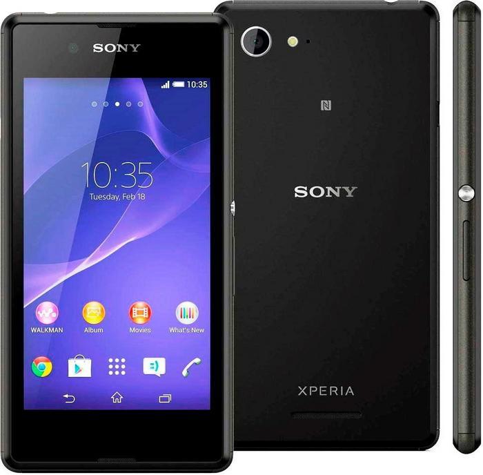 Sony Xperia E3 Czarny