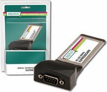 Digitus Kontroler ExpressCard do 2xSerial (szeregowy) DB9 COM RS232 DS-31205