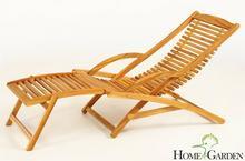 Home&Garden Leżak Ogrodowy składany Drewniany Akacja