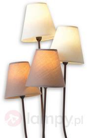 Näve Twiddle - lampa stojąca z czterema abażurami