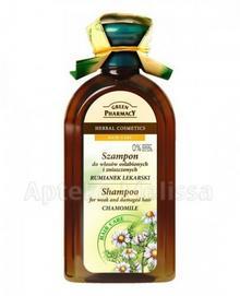 Elfa-Pharm POLSKA GREEN PHARMACY Szampon do włosów osłabionych i zniszczonych rumianek lekarski 350 ml 7050066