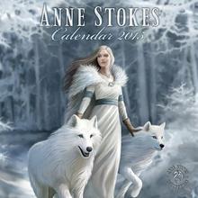 Anne Stokes Kobieta i Wilki - oficjalny kalendarz 2015 r.
